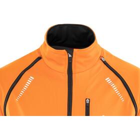 Löffler San Remo Windstopper Softshell Fahrrad Zip-Off Jacke Herren orange